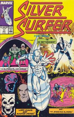 Silver Surfer #17 volume one. click for values