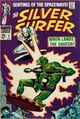 Silver Surfer #2: 1st Appearance of Brotherhood of Badoon. Click for values