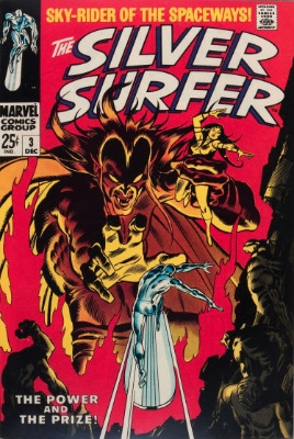 Silver Surfer #3: 1st Appearance of Mephisto. Click for value