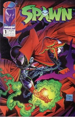 Spawn #1: Regular Edition (1992). Click for value