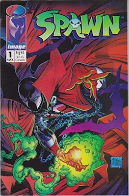 Spawn #1 (Image Comics, 1992). Click for values
