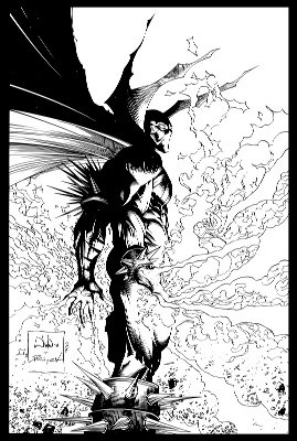 Spawn #185 (2008): Sketch Cover. A very rare and valuable modern comic book. Click for value