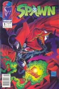 modern age comics: Spawn 1