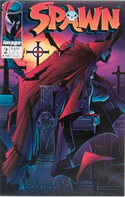 Origin and First Appearance, Violator, Spawn #2, Image Comics, 1992. Click for value