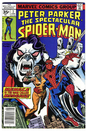 (Peter Parker, the) Spectacular Spider-Man #7 35c Price Variant