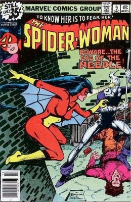 Origin and First Appearance, Needle, Spider-Woman #9, Marvel Comics, 1978. Click for value