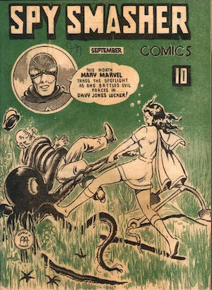 Canadian Whites: Rare Golden Age Wartime Comics