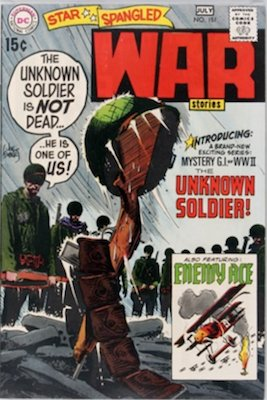 Star-Spangled War Stories #151: 1st Unknown Soldier. Click for values