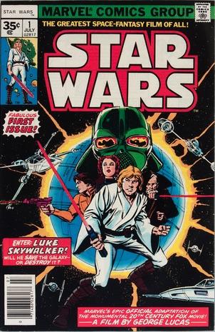 Star Wars #1 1977 35c Variant Edition