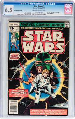 Star Wars #1 35c Price Variants are so scarce, you may have to take what you can get. A CGC 6.5 copy will be a cut above the average ones out there. Click to buy