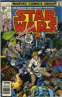 Star Wars #2 1977 35c Price Variant