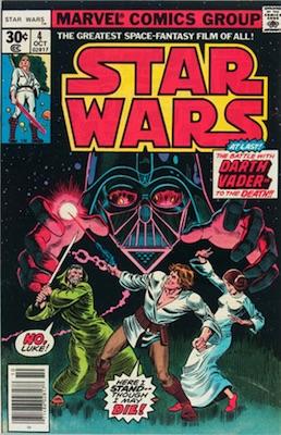 Star Wars #4 1977 Regular Edition. Click for values