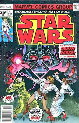 Star Wars #4 1977 35c Price Variant