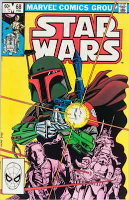 Star Wars #68: 2nd appearance of Boba Fett in comics. Regular edition. Click for values