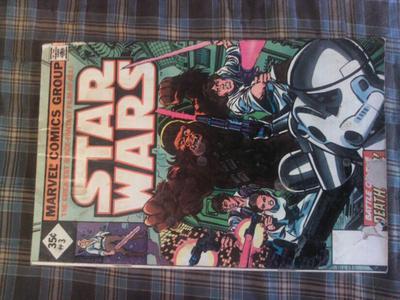 Star Wars Comic 1-3 35c: Reprints have minimal value