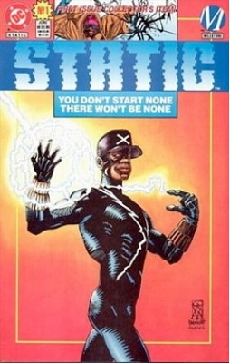 First Appearance, Static, Static #1, Milestone DC Comics, 1993. Get your comics appraised free