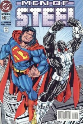 Origin and First Appearance, Gearhead, Steel #14, DC Comics, 1995. Click for value