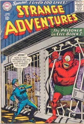 Origin and First Appearance, Immortal Man, Strange Adventures #177, DC Comics, 1965. Click for value