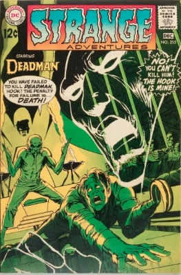 Origin and First Appearance, League of Assassins, Strange Adventures #215, DC Comics, 1968. Click for value
