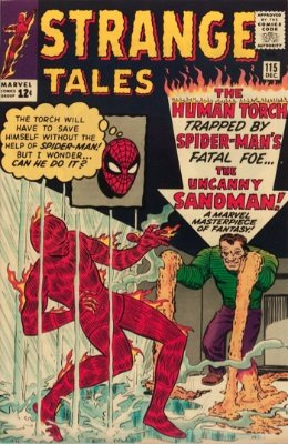 Strange Tales #115, origin of Dr. Strange. Click to research on eBay