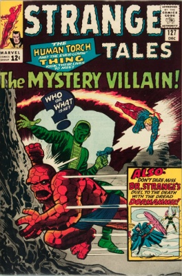 Strange Tales #127, December 1964: Cloaks and Eyes. Click for value