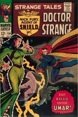 Strange Tales #150, November 1966: First Appearance of Umar; John Buscema Art. Click for value