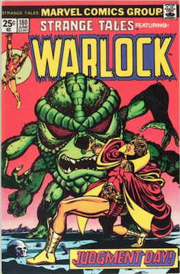 Strange Tales #180 (1975): First Appearance, Gamora. Click for values