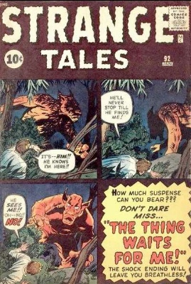 Strange Tales #92 included an Ant-Man prototype story. Click for values