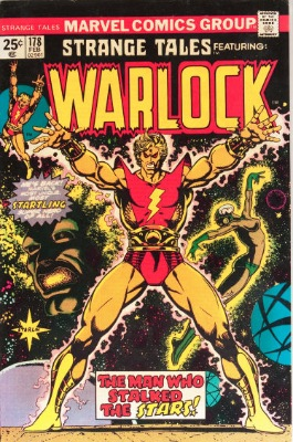 Origin and First Appearance, Magus (Adam Warlock), Strange Tales #178, Marvel Comics, 1975. Click for value