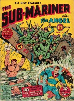 Sub-Mariner Comics #1 (Fall 1941): First Solo Comic. Rare! Click for values