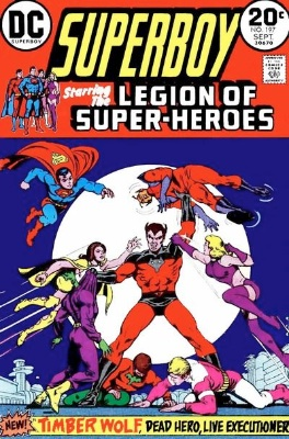 Superboy #197, first appearance of Legion of Superheroes in his title. Click for values