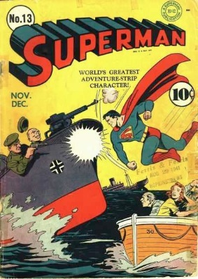 Superman comic values