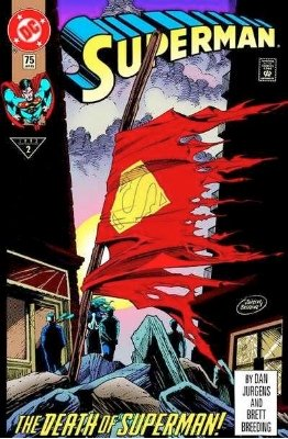 The Death of Superman. Click for values
