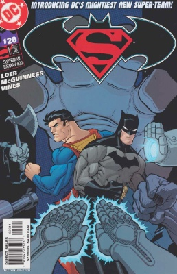 Origin and First Appearance, Batzarro, Superman/Batman #20, DC Comics, 2005. Click for value
