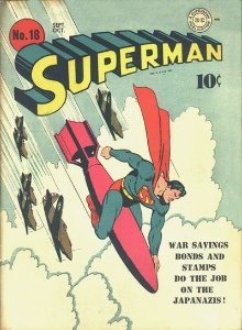 a classic 'bomb rodeo' cover Superman #18