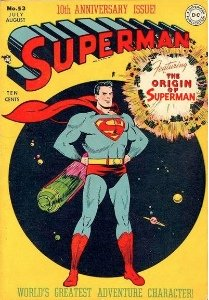 Superman Comics #53: Origin of Superman Retold