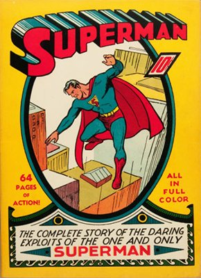 Superman #1 (June 1939), Record sale: $145,000. Click to have YOUR copy appraised!