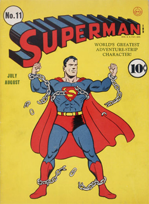 Superman comic #11. Click for value