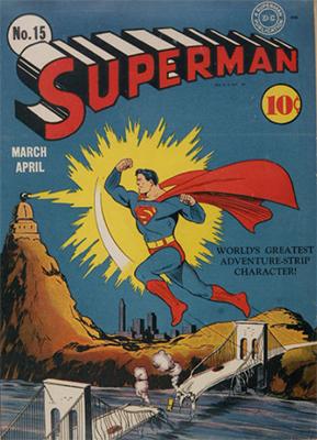 Superman #15: click for values