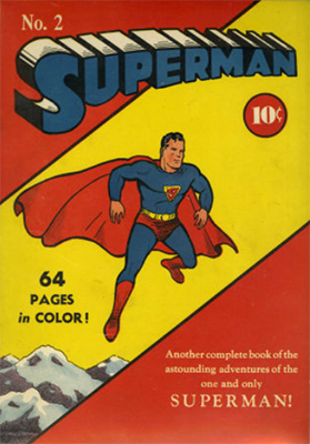 Superman Comic #2 (Sep 1939): Second in Series. Click for values