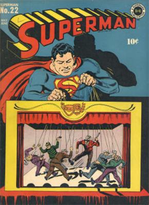 Superman #22. Click for values