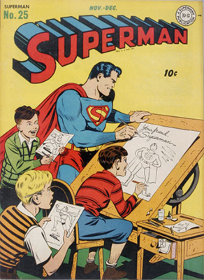 Superman comic books #25. Click for values