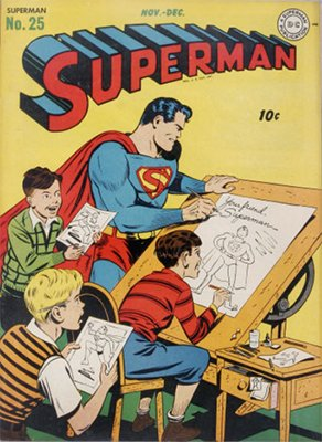 Superman comic books #25. Click for values