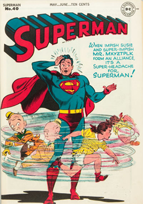 Superman #40. Click for values