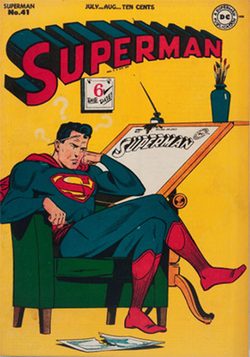 Superman comic #41. Click for values