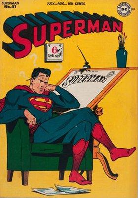 Superman comic #41. Click for values