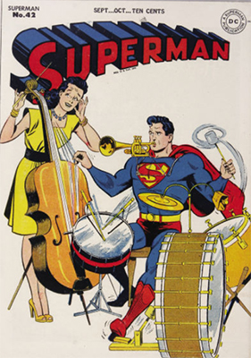 Superman #42. Click for values