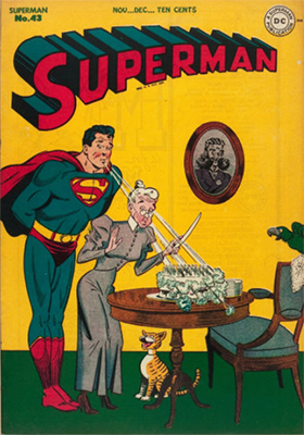Superman issue #43. Click for values
