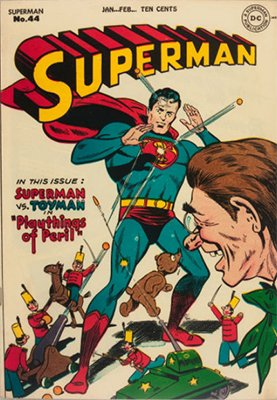 Superman comic #44. Click for values