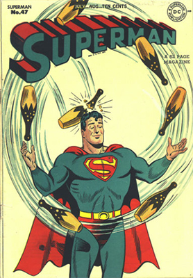 Superman comic #47. Click for values